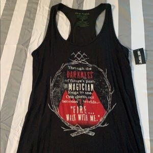 Tops - NWT Hot Topic Tank size S